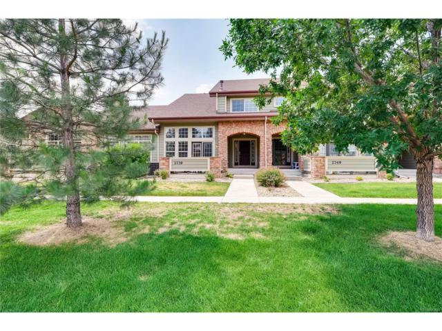 2739 W Greens Court, Littleton, CO 80123 (#8648282) :: The City and Mountains Group