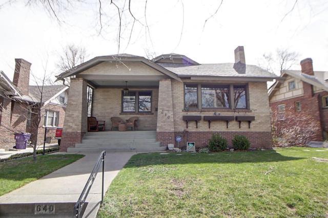 640 Cook Street, Denver, CO 80206 (#8650515) :: The Peak Properties Group