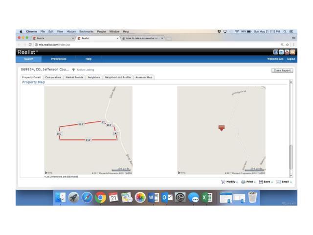 0 Silver Ranch Road, Conifer, CO 80433 (MLS #8654005) :: 8z Real Estate