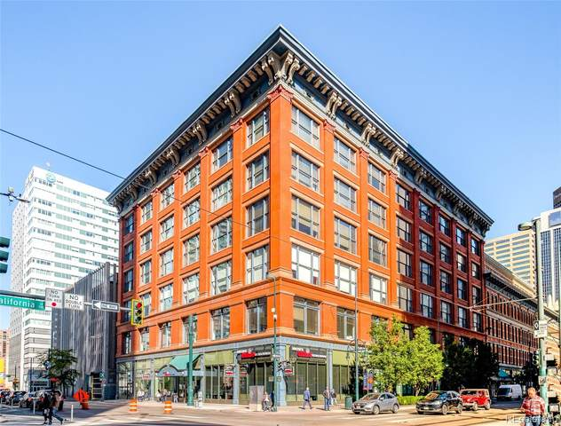 1555 California Street #508, Denver, CO 80202 (#8655103) :: Wisdom Real Estate