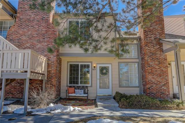 885 Summer Drive #14, Highlands Ranch, CO 80126 (#8655981) :: Chateaux Realty Group