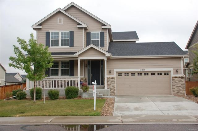 2805 E 141st Place, Thornton, CO 80602 (#8658694) :: My Home Team