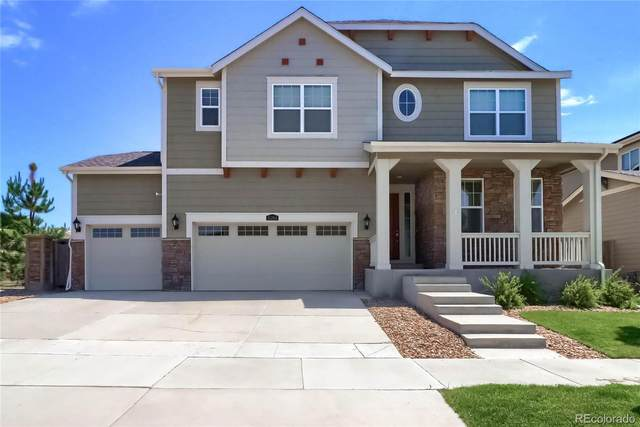 15264 Yellowthroat Street, Parker, CO 80134 (#8659350) :: Berkshire Hathaway HomeServices Innovative Real Estate