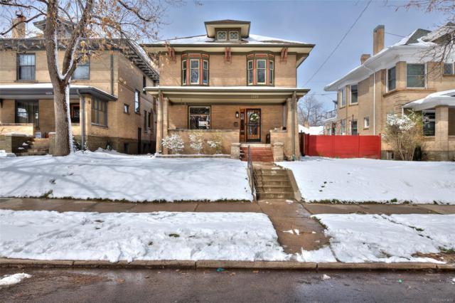 1229 Saint Paul Street, Denver, CO 80206 (#8659483) :: 5281 Exclusive Homes Realty