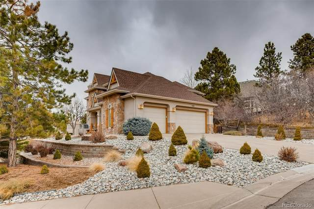 9161 Sunshine Meadow Place, Parker, CO 80134 (#8660293) :: iHomes Colorado