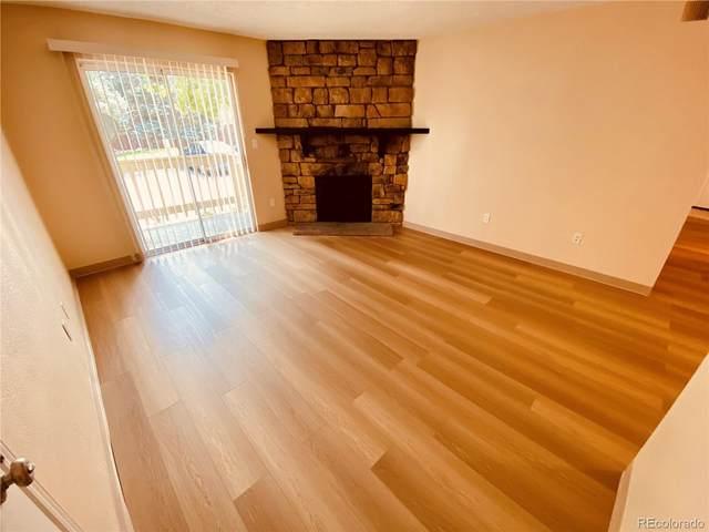 4400 S Quebec Street #107, Denver, CO 80237 (#8663377) :: The HomeSmiths Team - Keller Williams
