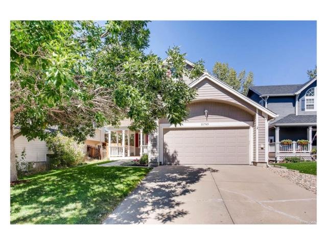 21749 Saddlebrook Drive, Parker, CO 80138 (MLS #8664954) :: 8z Real Estate