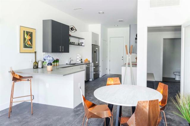 2525 Arapahoe Street D108, Denver, CO 80205 (#8666101) :: The Pete Cook Home Group