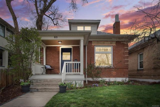 60 S Pennsylvania Street, Denver, CO 80209 (#8666544) :: The Galo Garrido Group