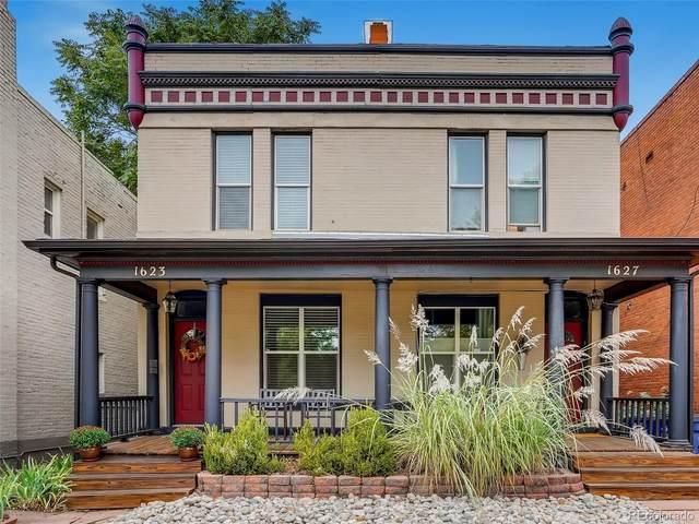 1623 N Williams Street, Denver, CO 80218 (#8668409) :: The HomeSmiths Team - Keller Williams