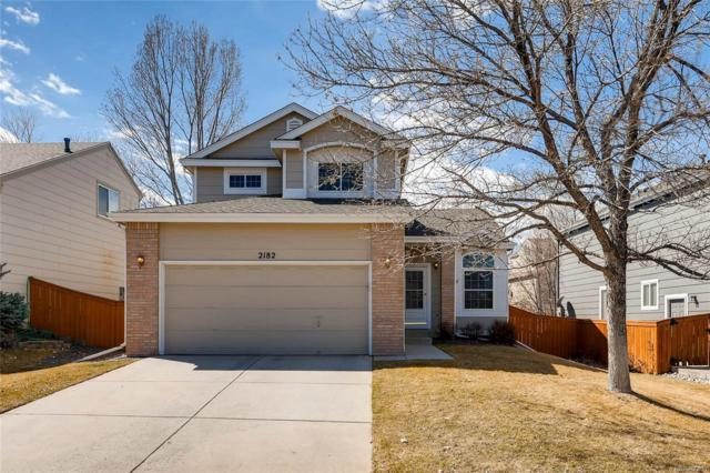 2182 Gold Dust Trail, Highlands Ranch, CO 80129 (#8669744) :: The Peak Properties Group