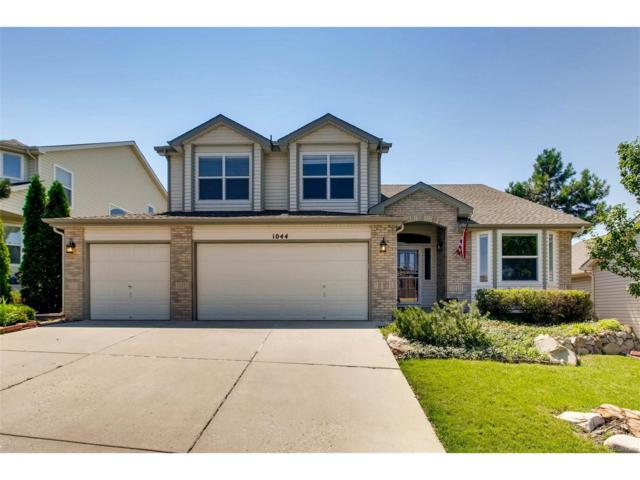 1044 Whispering Oak Drive, Castle Rock, CO 80104 (#8670704) :: The Dixon Group