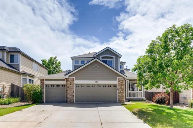 11810 Snowshoe Drive, Parker, CO 80138 (#8672666) :: Colorado Team Real Estate