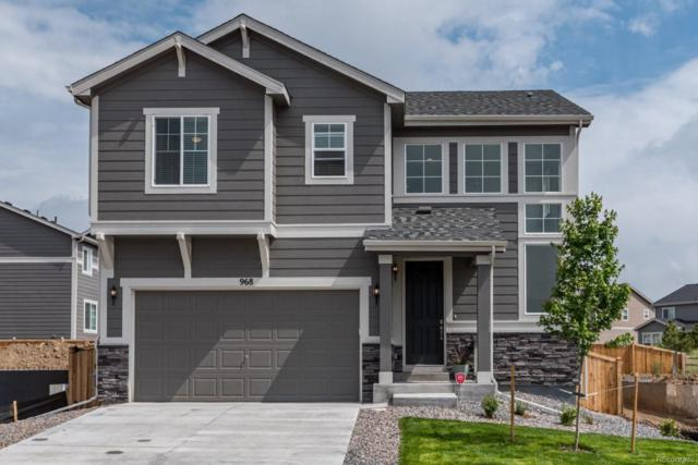 968 White Leaf Circle, Castle Rock, CO 80108 (#8672974) :: The HomeSmiths Team - Keller Williams