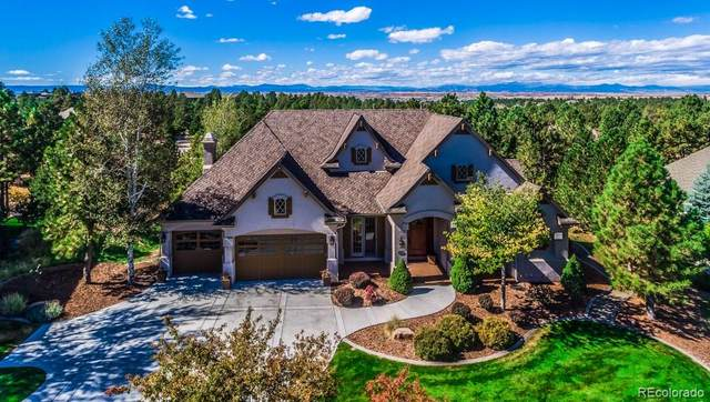 5257 Shade Tree Lane, Parker, CO 80134 (#8676447) :: iHomes Colorado