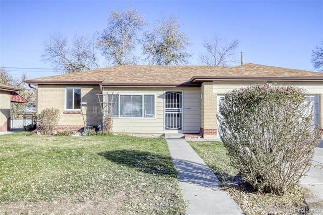 1240 S Gray Street, Lakewood, CO 80232 (#8677447) :: The Dixon Group