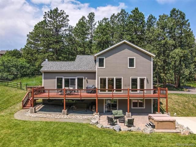 7221 S Homesteader Drive, Morrison, CO 80465 (#8678798) :: Finch & Gable Real Estate Co.