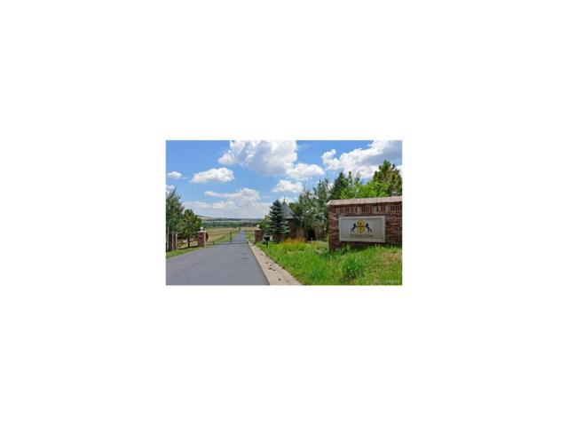 6120 Old Banbury, Lot 9 Lane, Sedalia, CO 80135 (MLS #8682239) :: 8z Real Estate