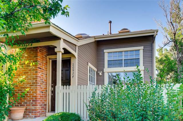 2092 S Helena Street F, Aurora, CO 80013 (#8682706) :: The Heyl Group at Keller Williams