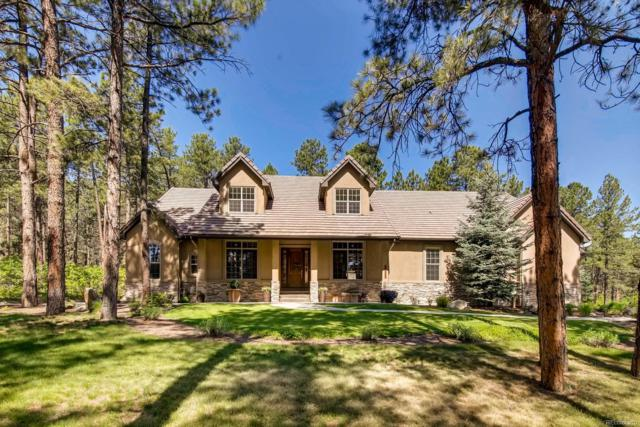 1235 Hoosier Drive, Larkspur, CO 80118 (#8683304) :: The Peak Properties Group