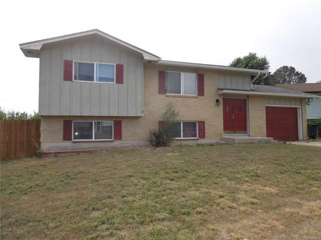 516 Rowe Lane, Colorado Springs, CO 80911 (#8685122) :: The Heyl Group at Keller Williams