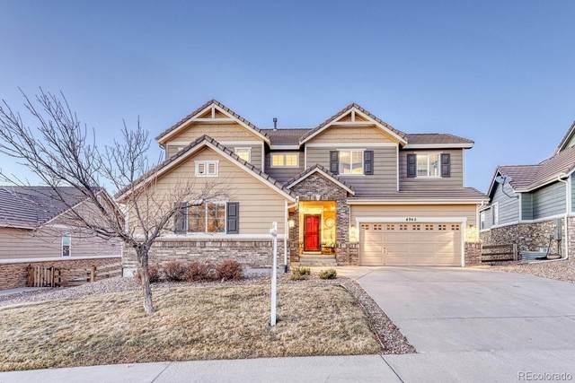 4945 Persimmon Lane, Castle Rock, CO 80109 (#8687307) :: Kimberly Austin Properties