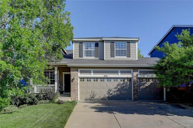 1041 Riddlewood Road, Highlands Ranch, CO 80129 (#8688386) :: The Dixon Group