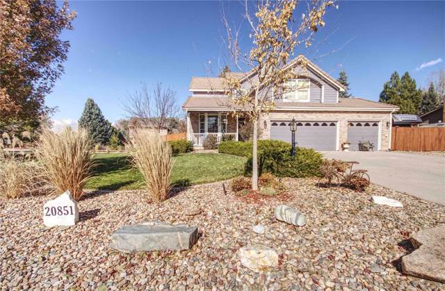 20851 E Lyttle Drive, Parker, CO 80138 (#8690729) :: The DeGrood Team