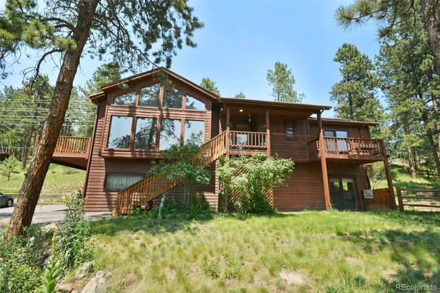 27851 Shadow Mountain Drive, Conifer, CO 80433 (#8692276) :: Berkshire Hathaway HomeServices Innovative Real Estate