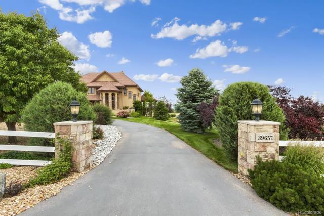 39657 Hilltop Circle, Severance, CO 80610 (#8695483) :: Colorado Home Finder Realty