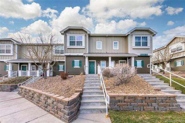 14700 E 104th Avenue #2402, Commerce City, CO 80022 (#8698904) :: Hudson Stonegate Team