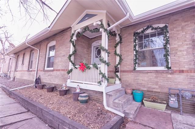 430 E 6th Avenue, Denver, CO 80203 (#8701228) :: HomeSmart Realty Group