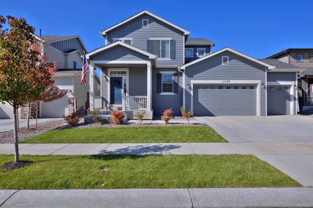 12239 Idalia Place, Commerce City, CO 80603 (#8701691) :: The Peak Properties Group
