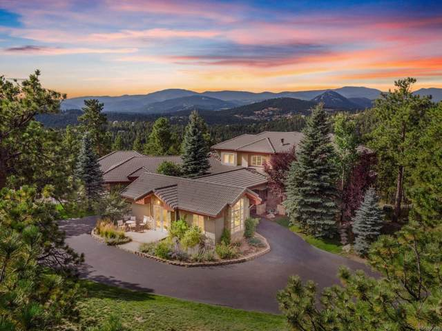 2817 Keystone Drive, Evergreen, CO 80439 (#8701858) :: Bring Home Denver with Keller Williams Downtown Realty LLC
