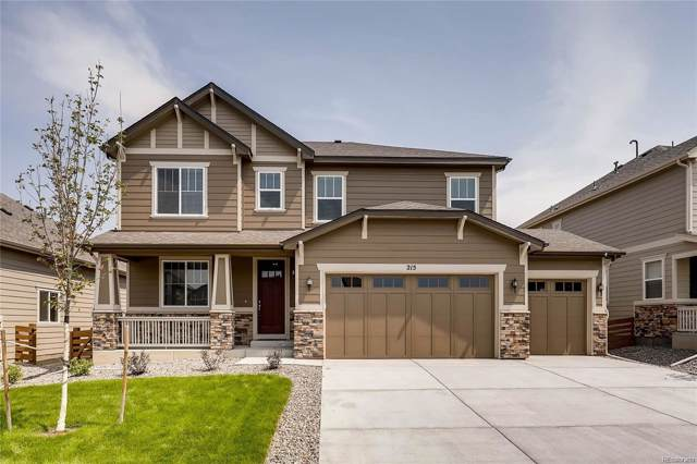 215 Horizon Avenue, Erie, CO 80516 (#8701903) :: Bring Home Denver with Keller Williams Downtown Realty LLC