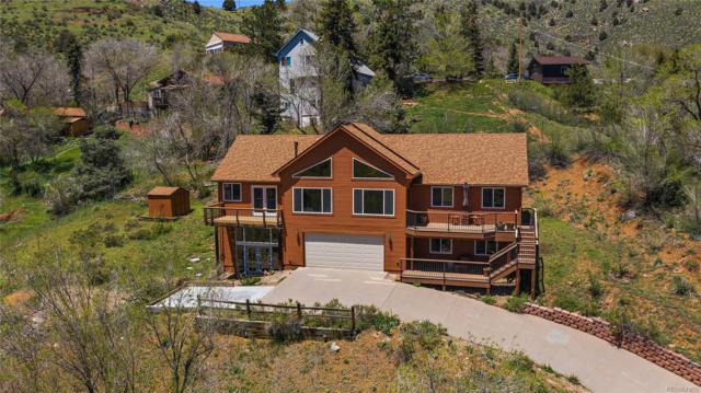 2781 Grapevine Road, Idledale, CO 80453 (#8703154) :: Berkshire Hathaway Elevated Living Real Estate