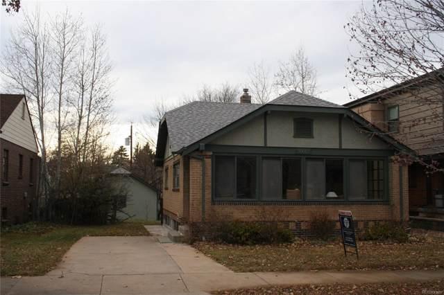 1111 S Elizabeth Street, Denver, CO 80210 (#8706443) :: milehimodern