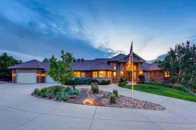 7240 Sagebrush Drive, Parker, CO 80138 (#8708550) :: Peak Properties Group