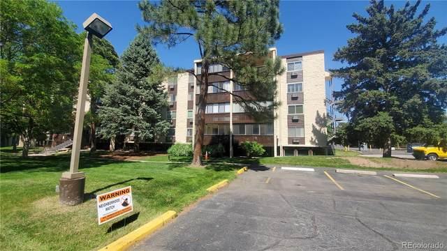 6940 E Girard Avenue #307, Denver, CO 80224 (MLS #8712769) :: Find Colorado