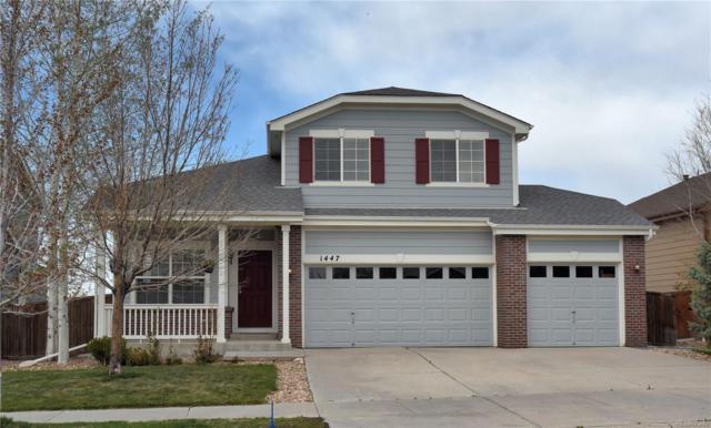 1447 Hickory Drive, Erie, CO 80516 (#8716778) :: House Hunters Colorado