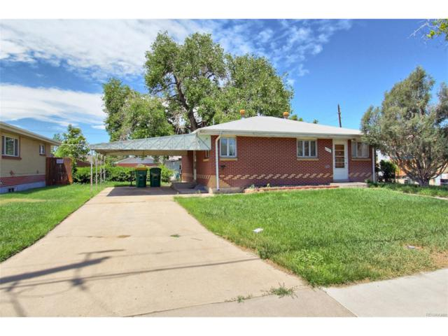 6181 Monaco Street, Commerce City, CO 80022 (#8720474) :: The Peak Properties Group