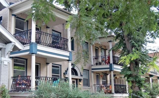1250 Pearl Street #5, Denver, CO 80203 (#8730176) :: HomeSmart