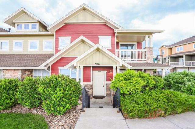 9311 Amison Circle #204, Parker, CO 80134 (#8732904) :: The Griffith Home Team