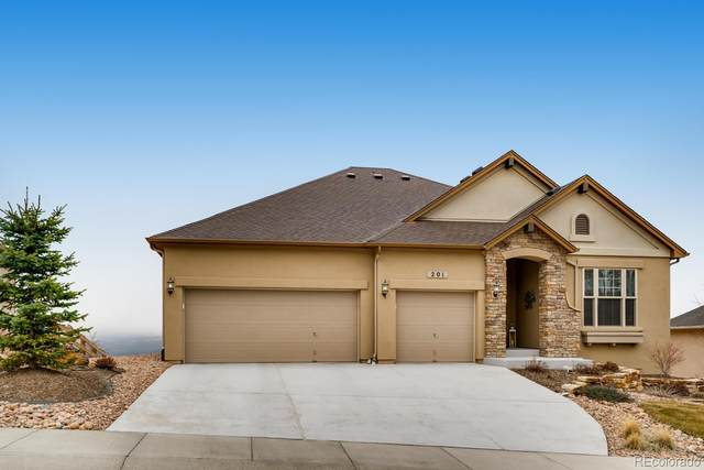 201 Kettle Valley Way, Monument, CO 80132 (#8734096) :: Keller Williams Action Realty LLC