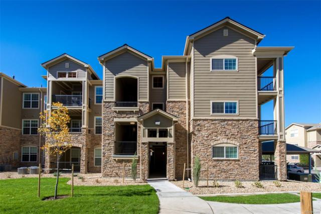 17353 Wilde Avenue 302 C, Parker, CO 80134 (#8734997) :: 5281 Exclusive Homes Realty