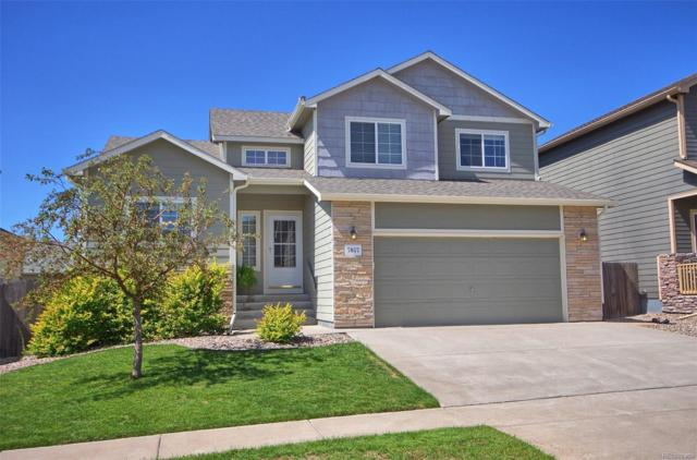 7057 Dusty Miller Way, Colorado Springs, CO 80908 (#8735319) :: The City and Mountains Group