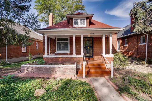 1075 S Emerson Street, Denver, CO 80209 (MLS #8737866) :: 8z Real Estate