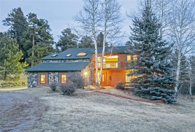 5078 Buffalo Creek Drive, Evergreen, CO 80439 (#8738756) :: The City and Mountains Group