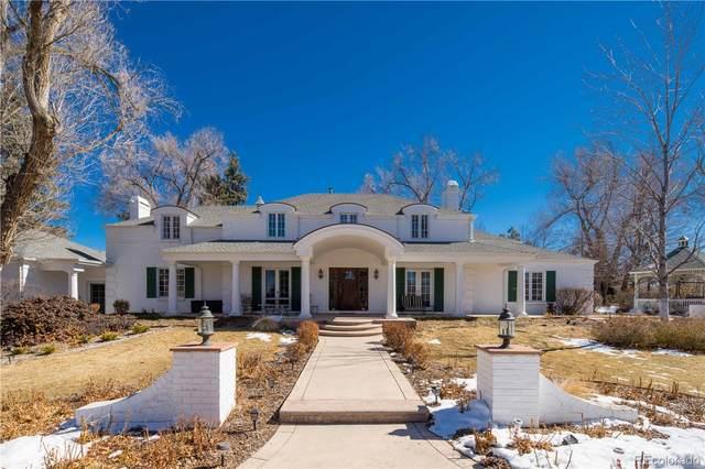 4150 S University Boulevard, Cherry Hills Village, CO 80113 (#8749206) :: Finch & Gable Real Estate Co.