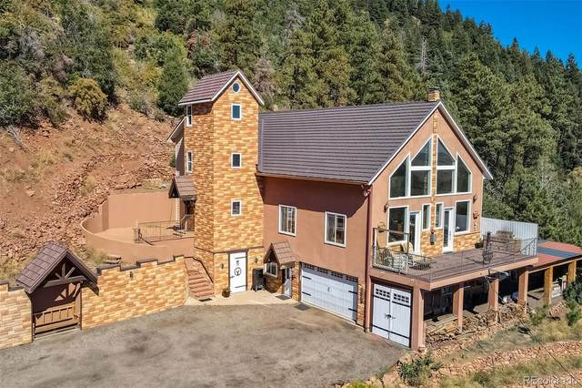 13776 Woodmoor West Drive, Larkspur, CO 80118 (#8752603) :: Symbio Denver